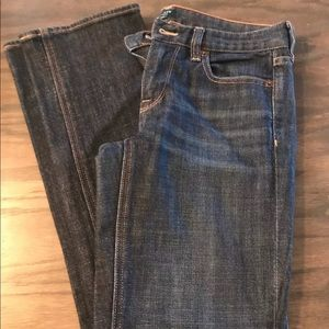 J.Crew matchstick stretch jeans size 26s.